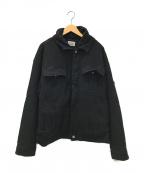 C.E(シーイー)の古着「DOUBLE LAYER DENIM JACKET」|ブラック