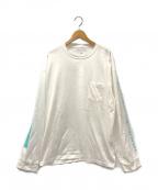 stein(シュタイン)の古着「オーバーサイズロングスリーブTシャツ」|ホワイト