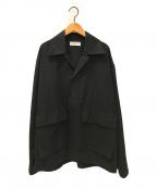 MARKA(マーカ)の古着「ユーティリティシャツ」|ブラック