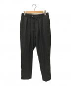 NEAT(ニート)の古着「タックワイドパンツ」|ブラック