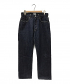 CIOTA(シオタ)の古着「本藍デニムパンツ」|インディゴ