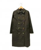Traditional Weatherwear(トラディショナルウェザーウェア)の古着「ステンカラーコート」|グレー