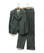 Yves Saint Laurent(イヴサンローラン)の古着「【古着】3ピースセットアップ」|グリーン