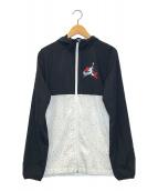 ()の古着「クラシックウィンドウェアジャケット」|ホワイト×ブラック