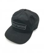 SUPREME(シュプリーム)の古着「kaws chalk logo 5-panel」|ブラック