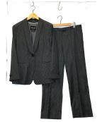 GIORGIO ARMANI(ジョルジョアルマーニ)の古着「シルクライニングセットアップスーツ」|グレー