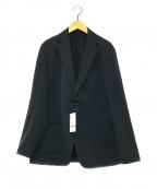 uniform experiment(ユニフォームエクスペリメント)の古着「4wayストレッチ2ボタンジャケット」|ブラック