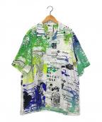 uniform experiment(ユニフォームエクスペリメント)の古着「オープンカラーシャツ」|ホワイト