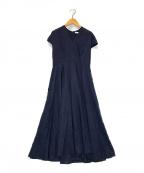 MARIHA(マリハ)の古着「春の月のドレス」|ネイビー