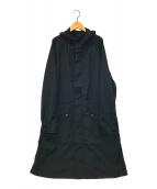 ()の古着「ウールモッズコート」|ブラック