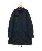 ()の古着「ナイロンモーターサイクルブルゾン」|ブラック