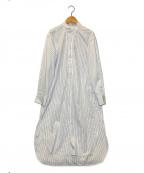 LOEFF(ロエフ)の古着「シャツワンピース」 ホワイト