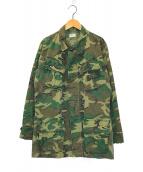 ()の古着「4Thジャングルファテーグジャケット」|グリーン