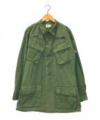 US ARMY(ユーエスアーミー)の古着「リップストップジャングルファティーグジャケット」|カーキ