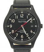MACKINTOSH PHILOSOPHY(マッキントッシュフィロソフィー)の古着「腕時計」 ブラック