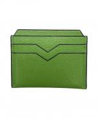 Valextra(ヴァレクストラ)の古着「カードケース」|グリーン