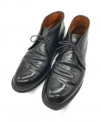 Alden(オールデン)の古着「コードバンチャッカーブーツ」|ブラック