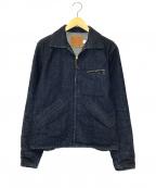 Trophy Clothing(トロフィークロージング)の古着「インディゴハミングバードジャケット」 インディゴ