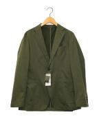 uniform experiment(ユニフォームエクスペリメント)の古着「ソロテックスストレッチツイルツーボタンジャケット」|オリーブ