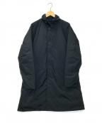 DESCENTE PAUSE(デサントポーズ)の古着「ステンカラーダウンコート」 ネイビー