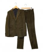 THE GIGI(ザ・ジジ)の古着「セットアップスーツ」|グリーン