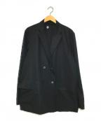 DESCENTE PAUSE(デサントポーズ)の古着「DOUBLE JACKET」 ブラック