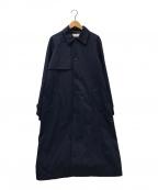 eN ROUTE(アンルート)の古着「ナイロントレンチコート」|ネイビー