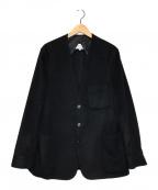 Maison Margiela(メゾンマルジェラ)の古着「カシミヤノーカラージャケット」|ブラック