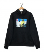 SUPREME×THE NORTH FACE(シュプリーム ×ザノースフェイス)の古着「EXPEDITION PULLOVER HOODIE」|ブラック