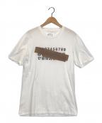 Maison Martin Margiela(メゾンマルタンマルジェラ)の古着「ナンバーテープエフェクトTシャツ」|ホワイト