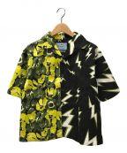PRADA()の古着「ショートスリーブシャツ」|イエロー