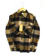 sanca(サンカ)の古着「シャツ」|ブラウン