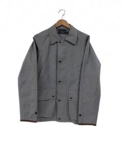POLO RALPH LAUREN(ポロ・ラルフローレン)の古着「ウォーターレジスタントウールコート」|グレー