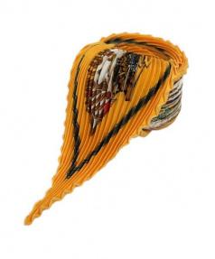 HERMES(エルメス)の古着「プリーツスカーフ」|オレンジ