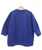 ASEEDONCLOUD(アシードンクラウド)の古着「カットソー」 ブルー