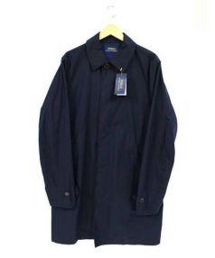 POLO RALPH LAUREN(ポロ バイ ラルフローレン)の古着「ステンカラーコート」|ネイビー