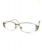 CAZAL(カザール)の古着「眼鏡」 ゴールド×ブルー