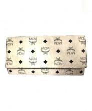MCM(エムシーエム)の古着「長財布」|ピンクベージュ