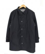 Eddie Bauer(エディーバウアー)の古着「ライナー付ステンカラーコート」 ブラック