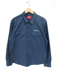 SUPREME(シュプリーム)の古着「Waste Work Shirt」|ネイビー