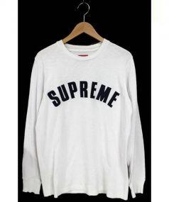 SUPREME(シュプリーム)の古着「Arc Logo L/S Top」|ホワイト