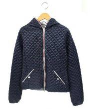 DUVETICA(デュベティカ)の古着「キルティングジャケット」|ネイビー