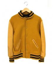 SKOOKUM(スクーカム)の古着「ヴァーシティージャケット」|マスタード