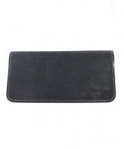 PORTER(ポーター)の古着「レザー長財布」|ブラック
