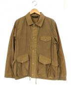 The Stevenson Overall Co.(スティーブンソン オーバーオールズ)の古着「カバーオール」|ベージュ