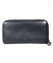 EMPORIO ARMANI EA7(エンポリオアルマーニ イーエーセブン)の古着「ラウンドファスナー長財布」|ブラック