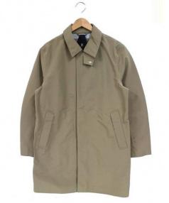 WILD THINGS(ワイルドシングス)の古着「ステンカラーコート」|ベージュ