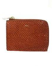 A.P.C.(アーペーセー)の古着「2つ折りコインケース」|ブラウン
