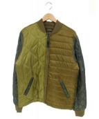 ALPHA(アルファ)の古着「ブルゾン」|オリーブ