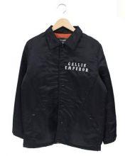 GALLIS ADDICTION(ガリスアディクション)の古着「中綿コーチジャケット」|ブラック